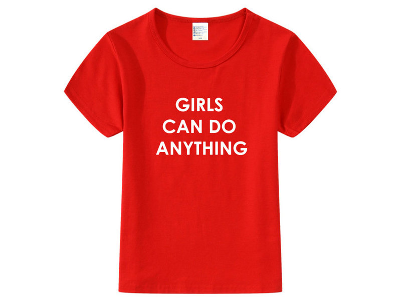 T-shirt Girls Can Do Anything