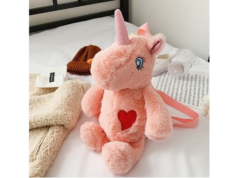 Backpack Fluffy Unicorn