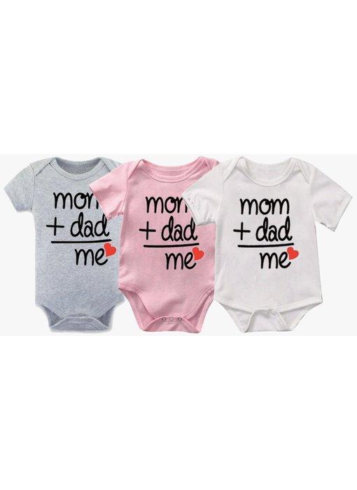 Romper Mom + Dad = Me