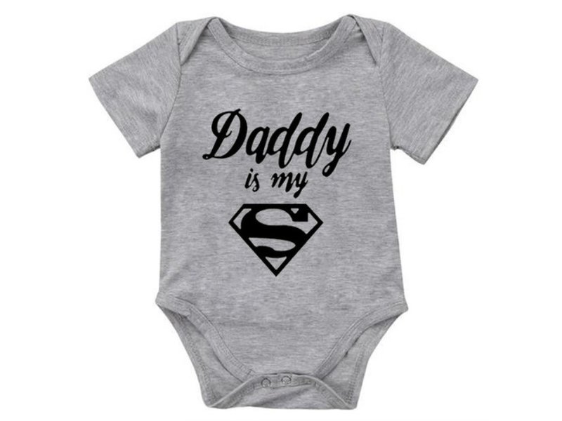 Romper Daddy Is My Superman