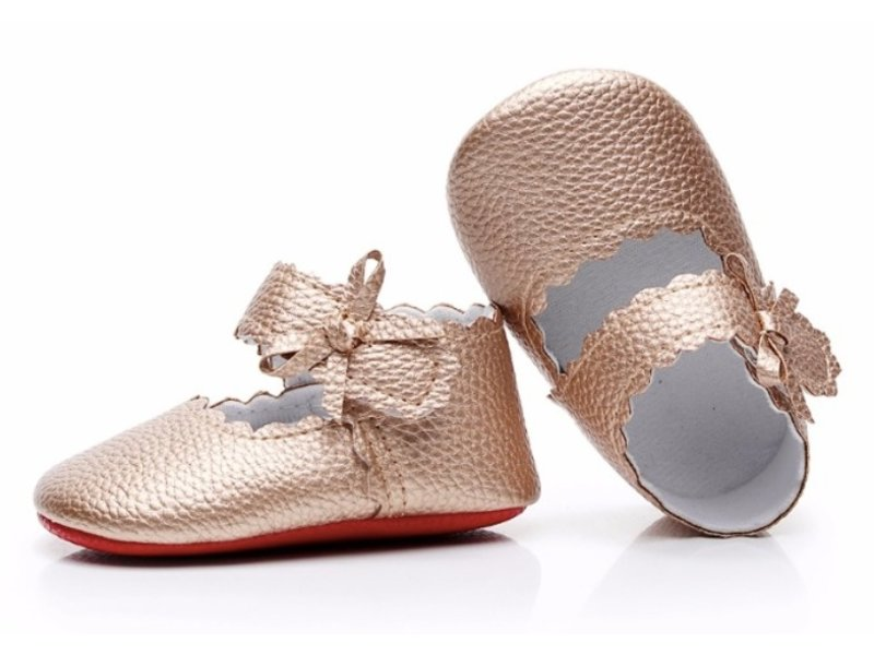 Moccasin Baby Shoes Sophia