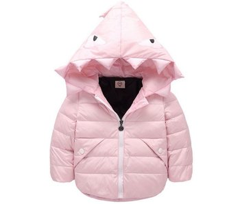 Down Jacket Monster (Soft Pink)
