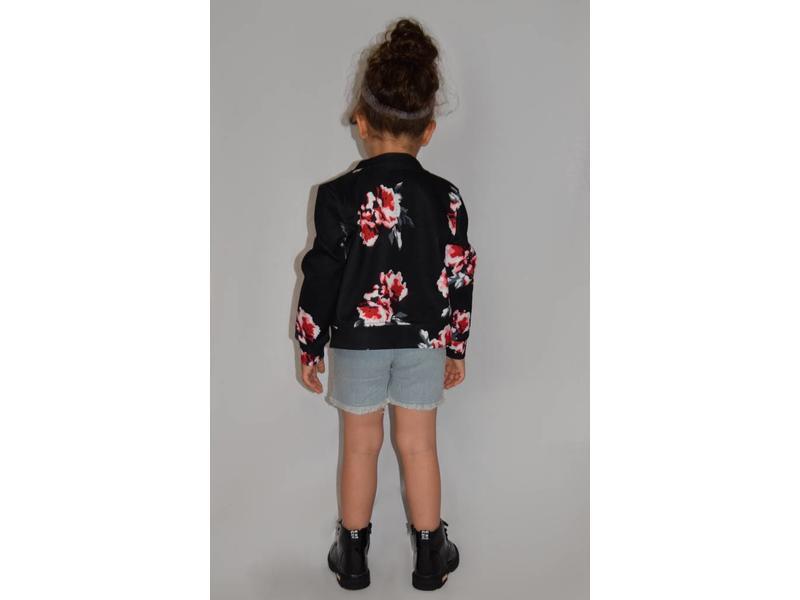 Jacket Floral (Soft Pink)