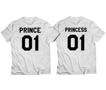 T-shirt Set Prince + Princess