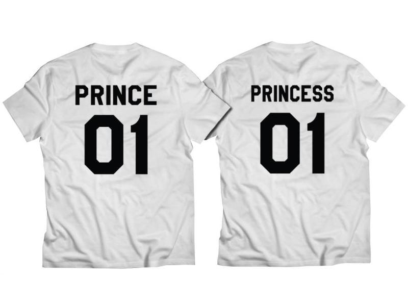 T-shirt Set Prince + Princess