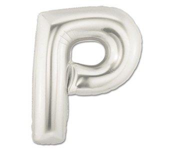 Aluminum Balloon Letter P