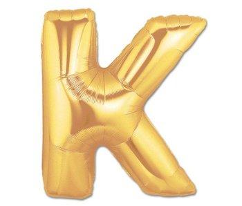 Aluminum Balloon Letter K