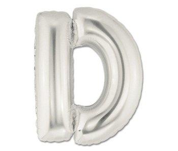 Aluminum Balloon Letter D