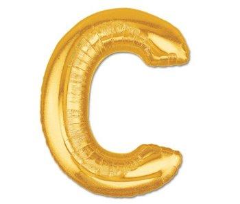 Aluminum Balloon Letter C