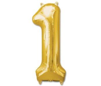 Aluminum Balloon Number 1