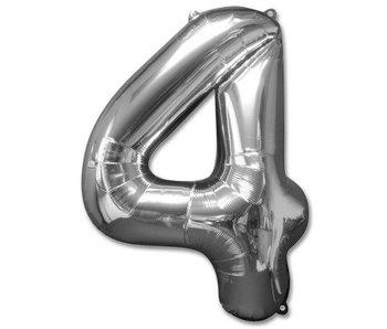 Aluminum Balloon Number 4