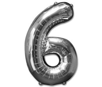 Aluminum Balloon Number 6