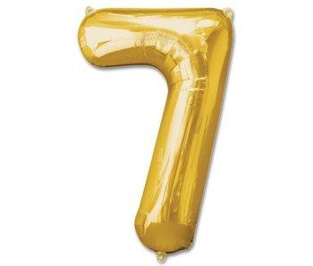 Aluminum Balloon Number 7