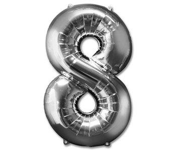 Aluminum Balloon Number 8