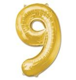 Aluminum Balloon Number 9