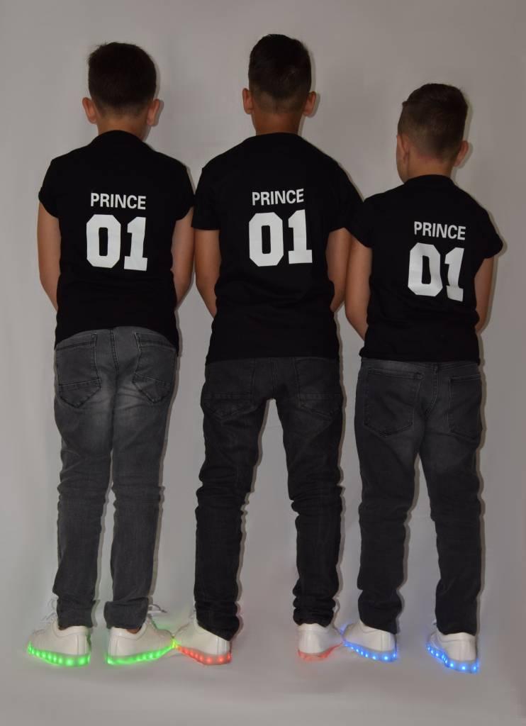 26e81fa9f5940 T-shirt Set Prince + King + Queen - Hipp Kiddo