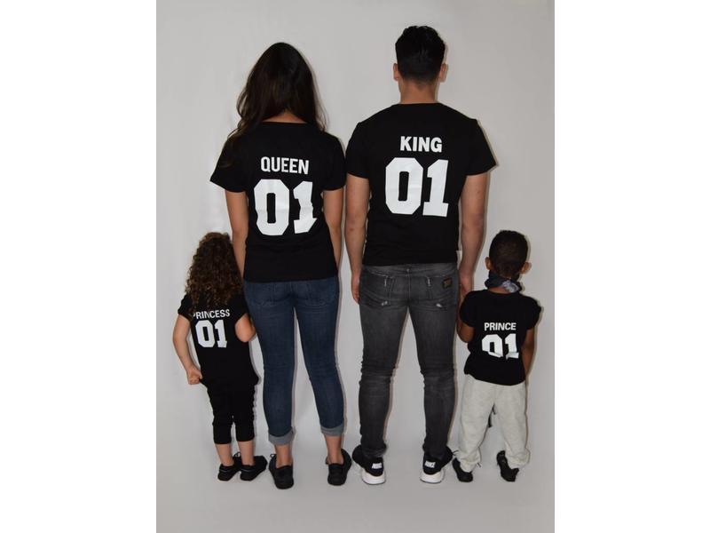 T-shirt Set Prince + King + Queen