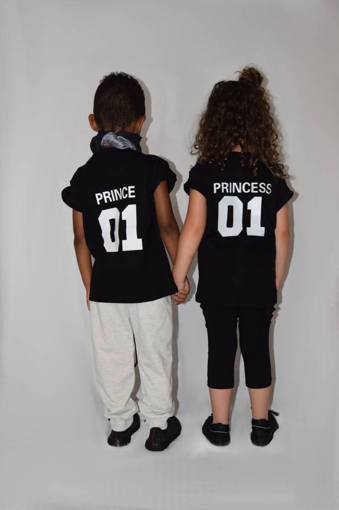 424f74f41011f T-shirt Set Princes + King + Queen - Hipp Kiddo