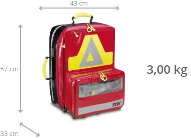 PAX Wasserkuppe L - AED rugtas