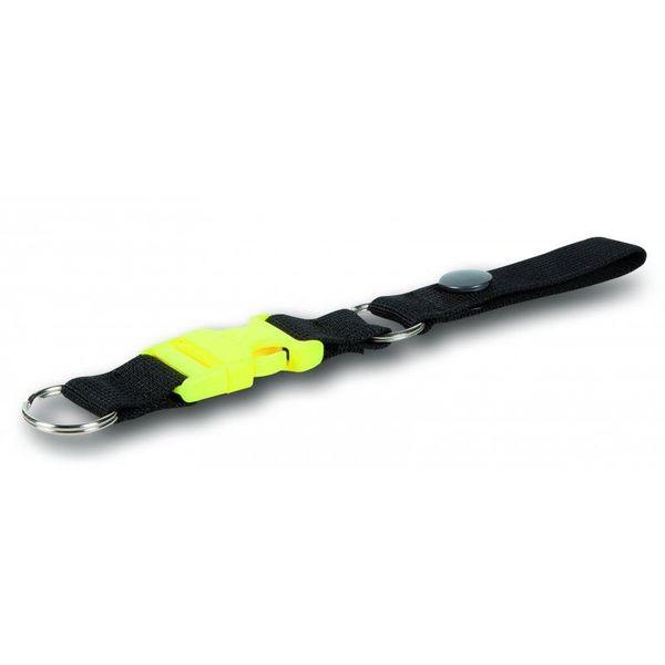 Sleutel clip met koord en drukknoop