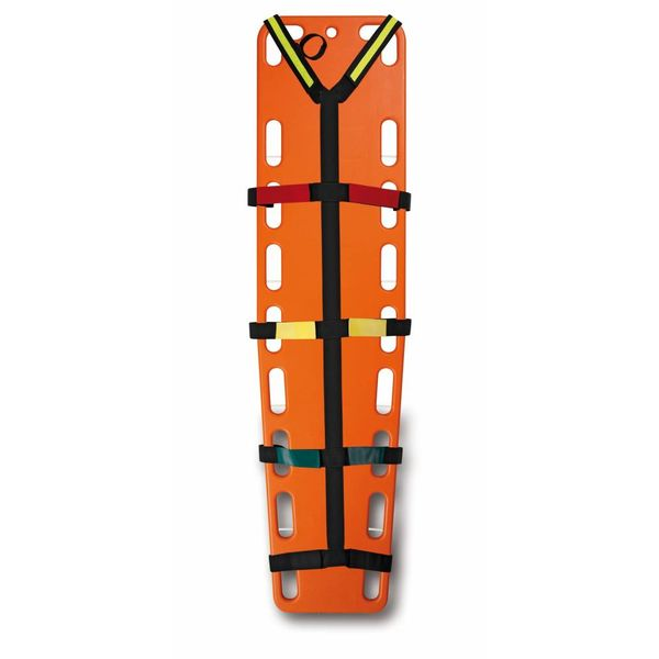 Spine board harnas systeem