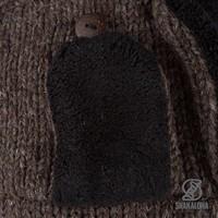 Shakaloha Kamikaze Beanie Dark Brown