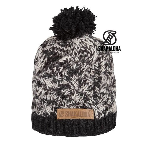 Shakaloha Mütze Bison Anthrazit