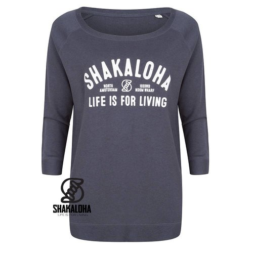 Shakaloha W Crew ArcWHT Tinte
