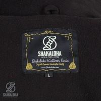 Shakaloha Shakaloha Wolljacke - Strickjacke Patch ZH Gemischtes mehrfarbiges Fell mit Fleece-Futter und Abnehmbarer Kapuze - Herren - Uni - Handgemacht in Nepal aus Schafwolle