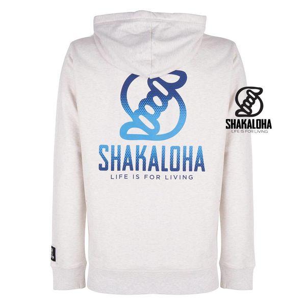 Shakaloha Men's Ziphood Organic Cotton Blue Print