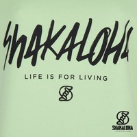 Shakaloha Pull femme Escaper Lime - coton bio avec imprimé Shakaloha