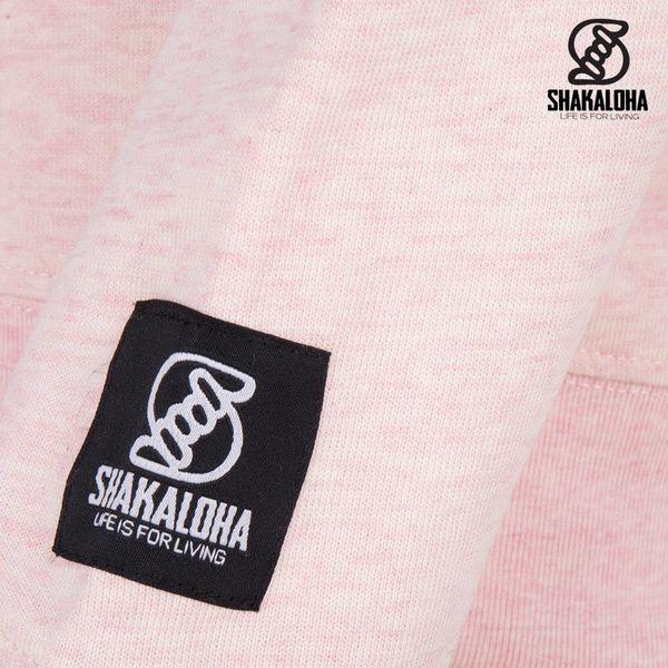 Shakaloha Damenpullover Hider Pink - Bio-Baumwolle mit Shakaloha-Print