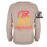 Shakaloha Pull Femme Tripper Clay - Coton Bio avec un imprimé Shakaloha