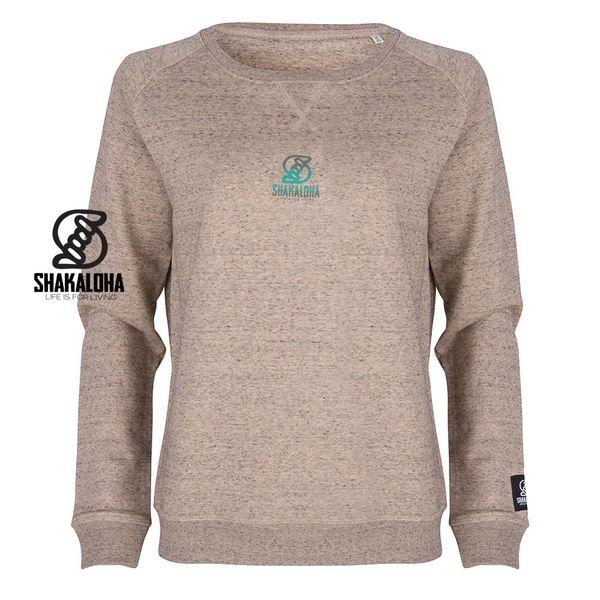 Shakaloha Women's Sweater Tripper Clay - Organic Cotton with Shakaloha print