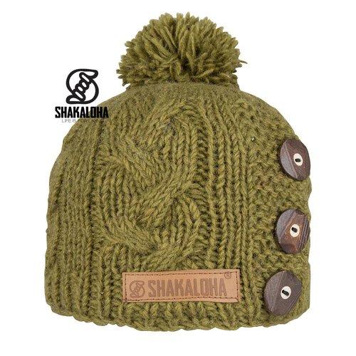 Shakaloha Basil Beanie Green OneSize