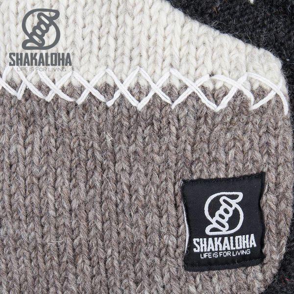Shakaloha Natur Patchwork Fleece gef