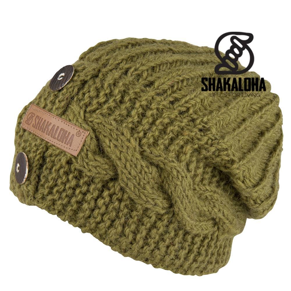 Shakaloha Betsy Beanie Green OneSize