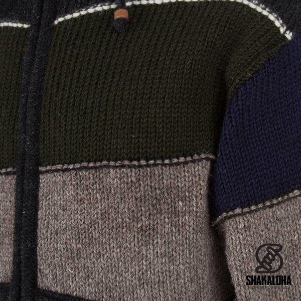 Shakaloha M Zito ZH DarkMulti Wool Jacket mit Fleecefutter