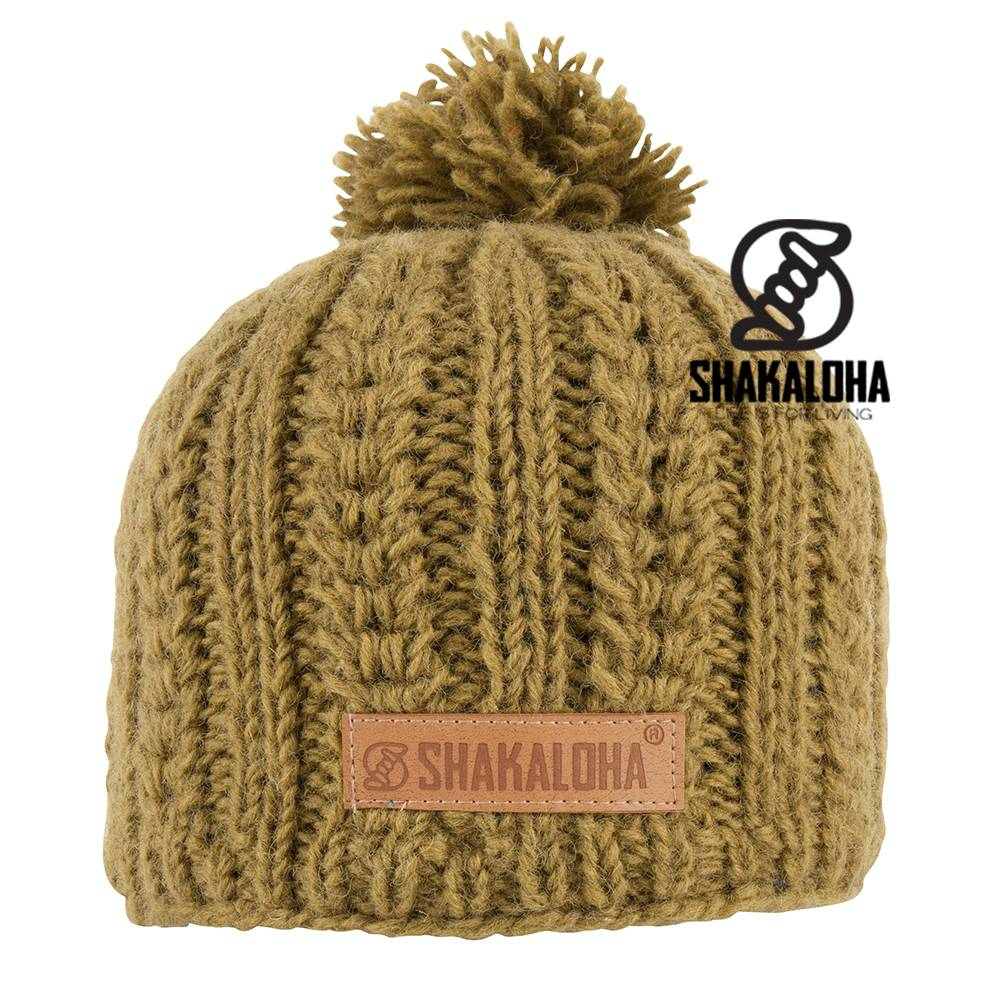 Shakaloha Binz Beanie Green OneSize