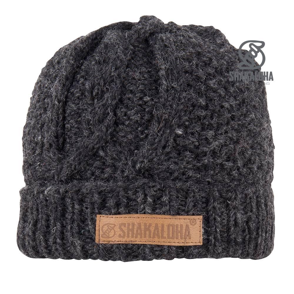 Shakaloha Coup Bonnet Antracite OneSize