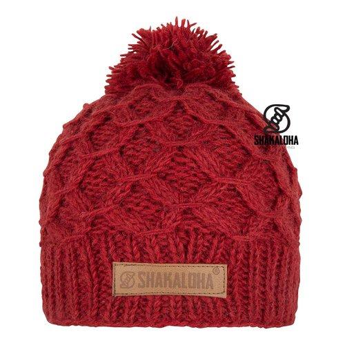 Shakaloha Bona Mütze Red OneSize
