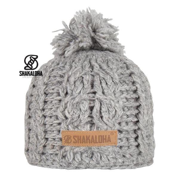 Shakaloha Broh Mütze Grey OneSize