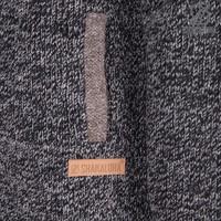 Shakaloha Shakaloha Knitted Woolen Jacket Sierra  with Cotton Lining and High Collar - Men - Unisex - Handmade in Nepal from sheep's wool