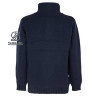 Shakaloha M Polaris Navy Fleece Lined Pullover