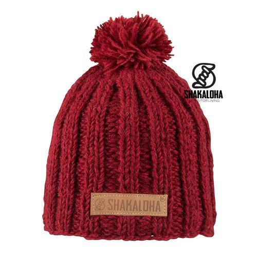 Shakaloha Bopper Mütze Red OneSize