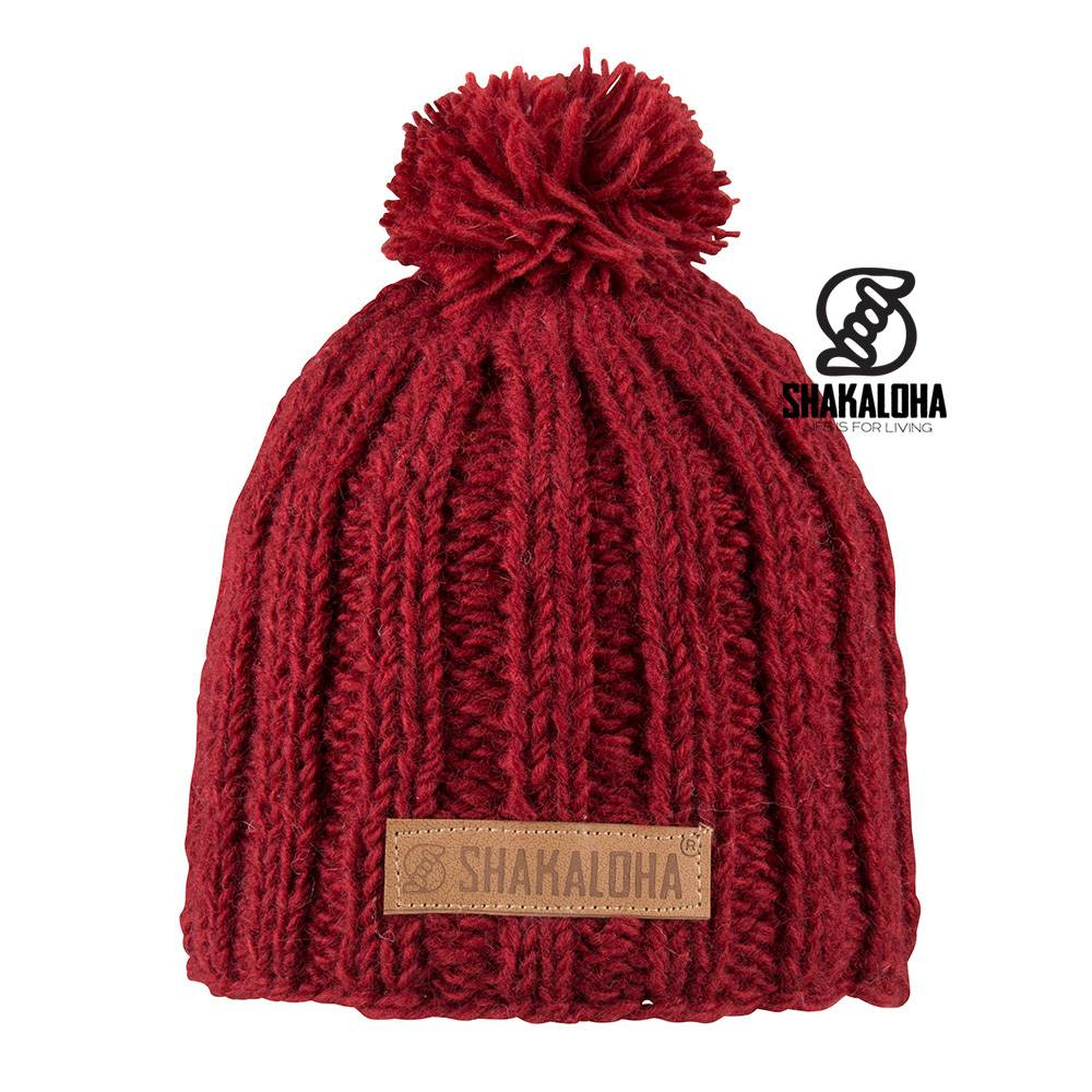Shakaloha Bonnet Bopper Rouge Taille Unique