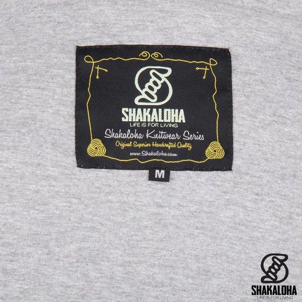 Shakaloha Shakaloha Veste en Laine Tricoté Linder Crème beige avec Doublure en coton et Capuche - Femmes - Fabriqué à la main au Népal en laine de mouton