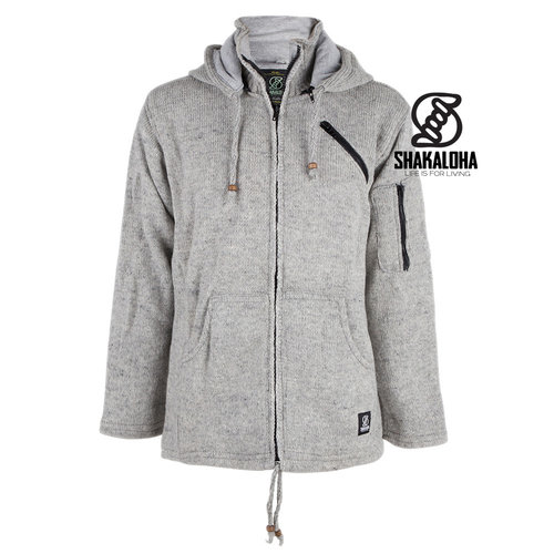 Shakaloha Cruiser Ziphood Grey