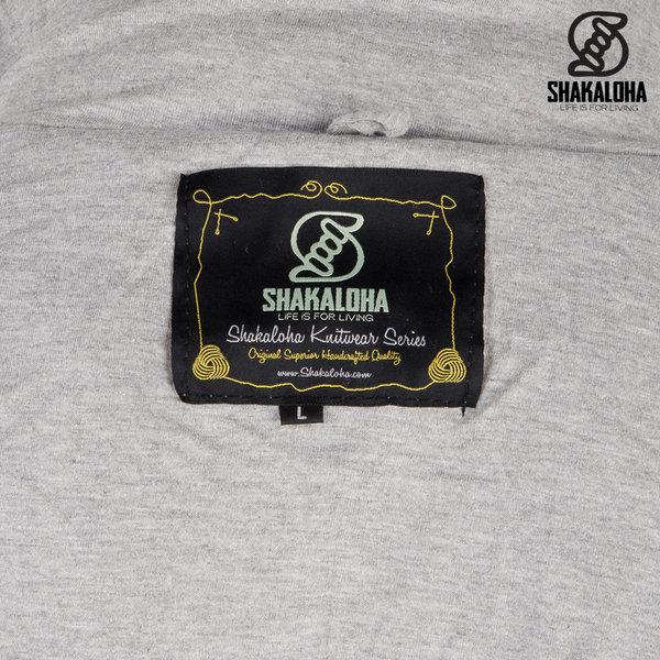 Shakaloha Shakaloha Cruiser Ziphood Grijs met katoenen jersey voering