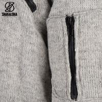 Shakaloha Shakaloha Cruiser Ziphood Gray with cotton jersey lining